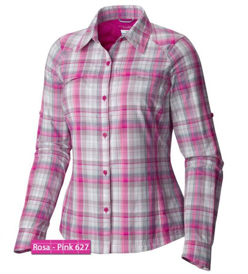 Camisa Silver Ridge Plaid Lady Columbia