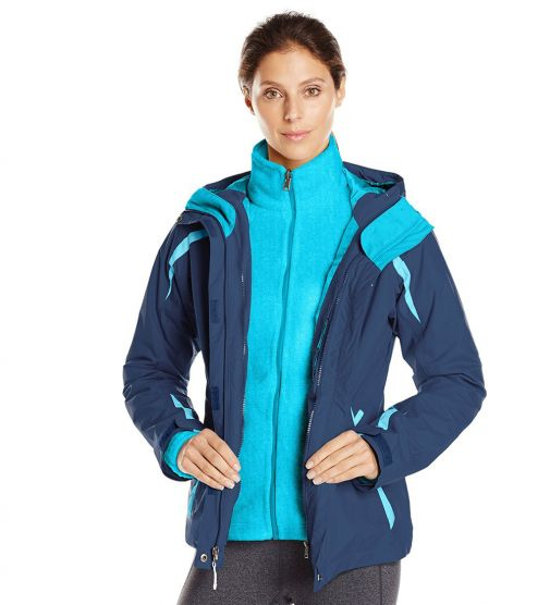 Campera 3 en 1 Blazing Star Columbia