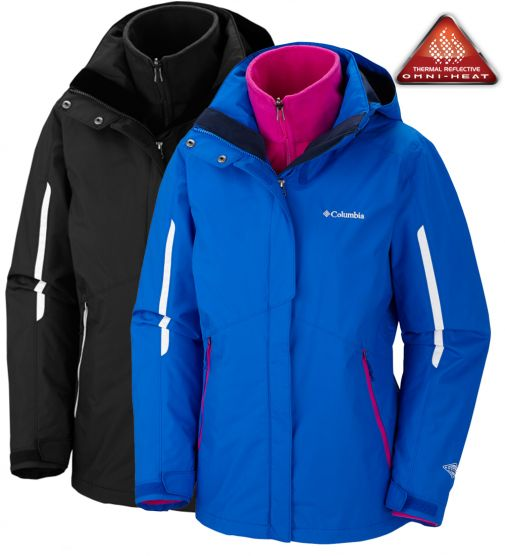 Campera Columbia Bugaboo Desmontable