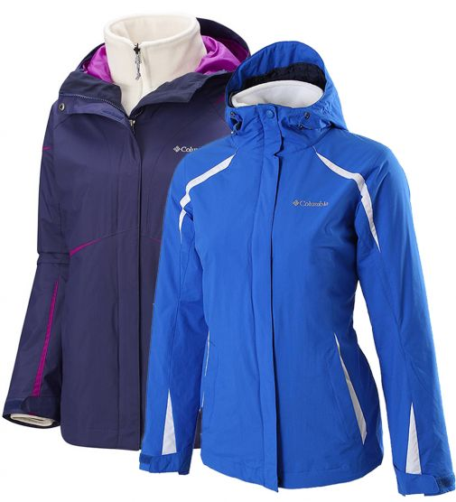 Campera Columbia Blazing Star Desmontable
