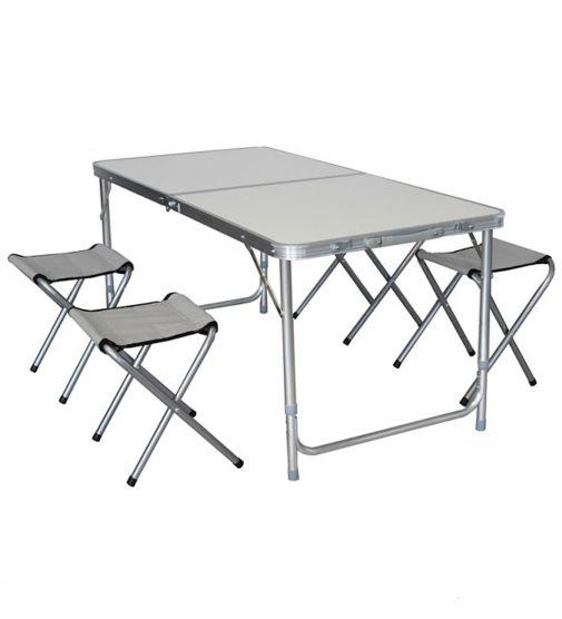 Mesa plegable coleman tienda de outdoor monta ismo for Mesa de camping plegable de aluminio