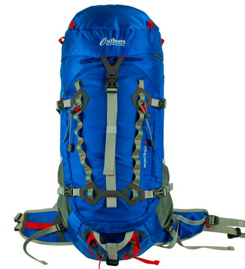 Mochila Camping 40 lts Outdoors Professional