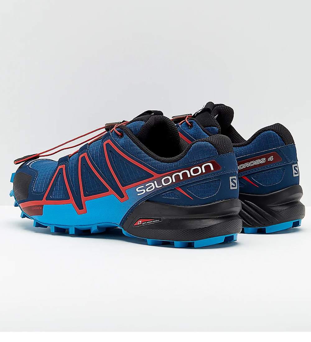 Neues Produkt Mujer Verde Azul Salomon Speedcross 4 CS