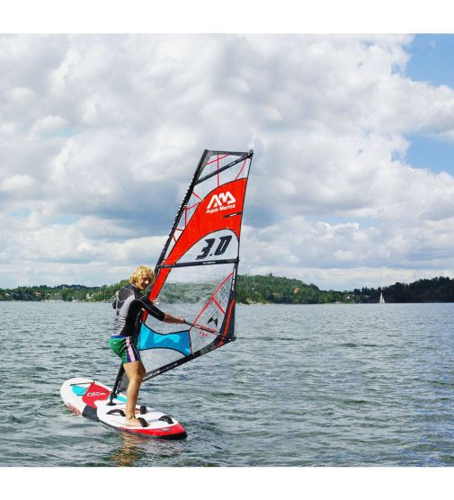 Tabla De Windsurf Inflable Champion Aquamarina